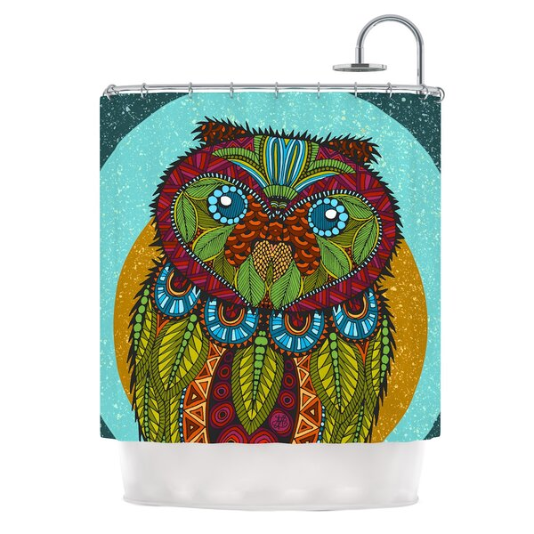 Owl by Art Love Passion Shower Curtain by East Urban Home