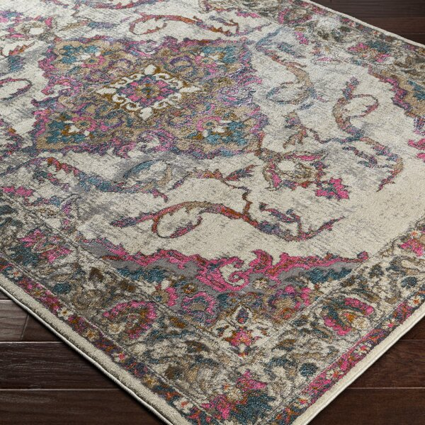 Alpharetta Pink Area Rug by Bungalow Rose
