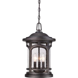 Bargain Sheppard 3-Light Outdoor Hanging Lantern By Longshore Tides