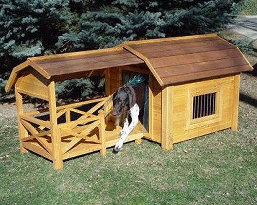 Daxter The Barn Dog House by Tucker Murphy Pet
