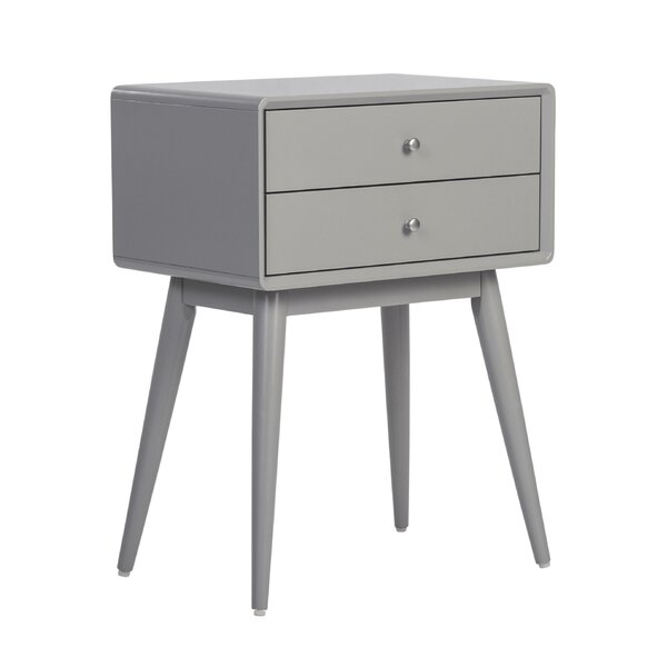 Jovan End Table With Storage By Langley Street™