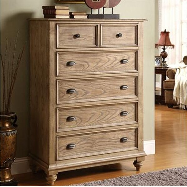 Quevillon 5 Drawer Chest By Lark Manor.