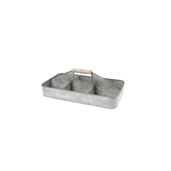 Chelsey Metal Serving Tray by Millwood Pines