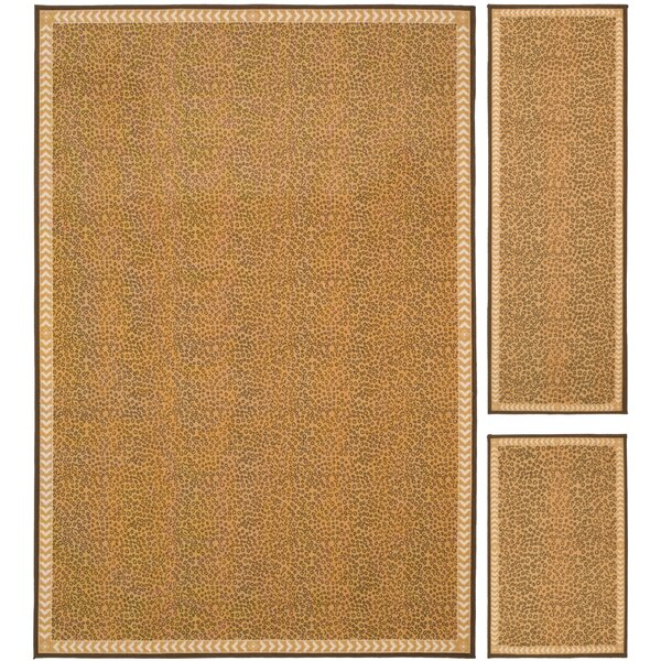 Metropolis Camel / Brown Rug (Set of 3) by Safavieh