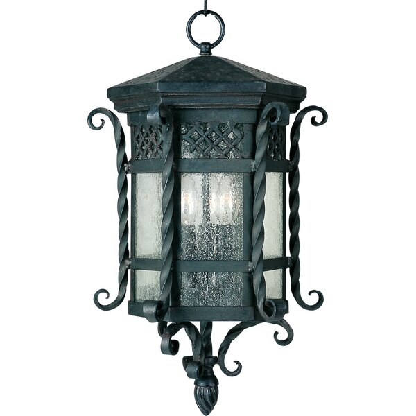 Chatmon 3-Light Outdoor Hanging Lantern by Astoria Grand