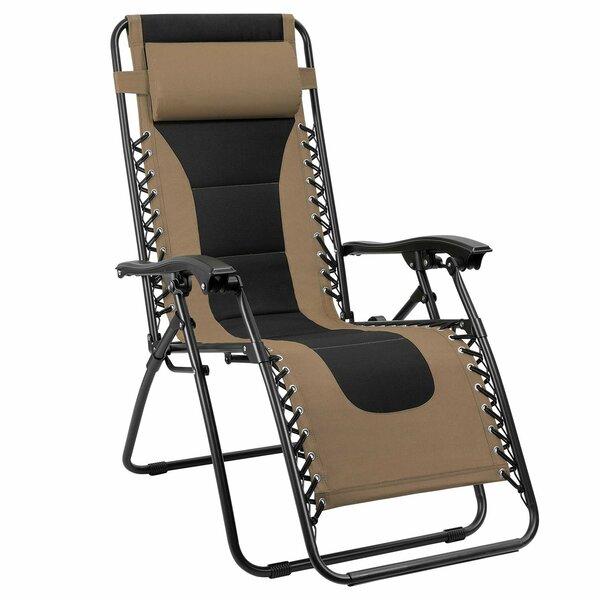Chu Reclining/Folding Zero Gravity Chair by Freeport Park Freeport Park