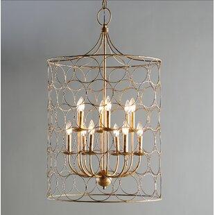Buy luxury Flores 12-Light Lantern Pendant By Laurel Foundry Modern Farmhouse