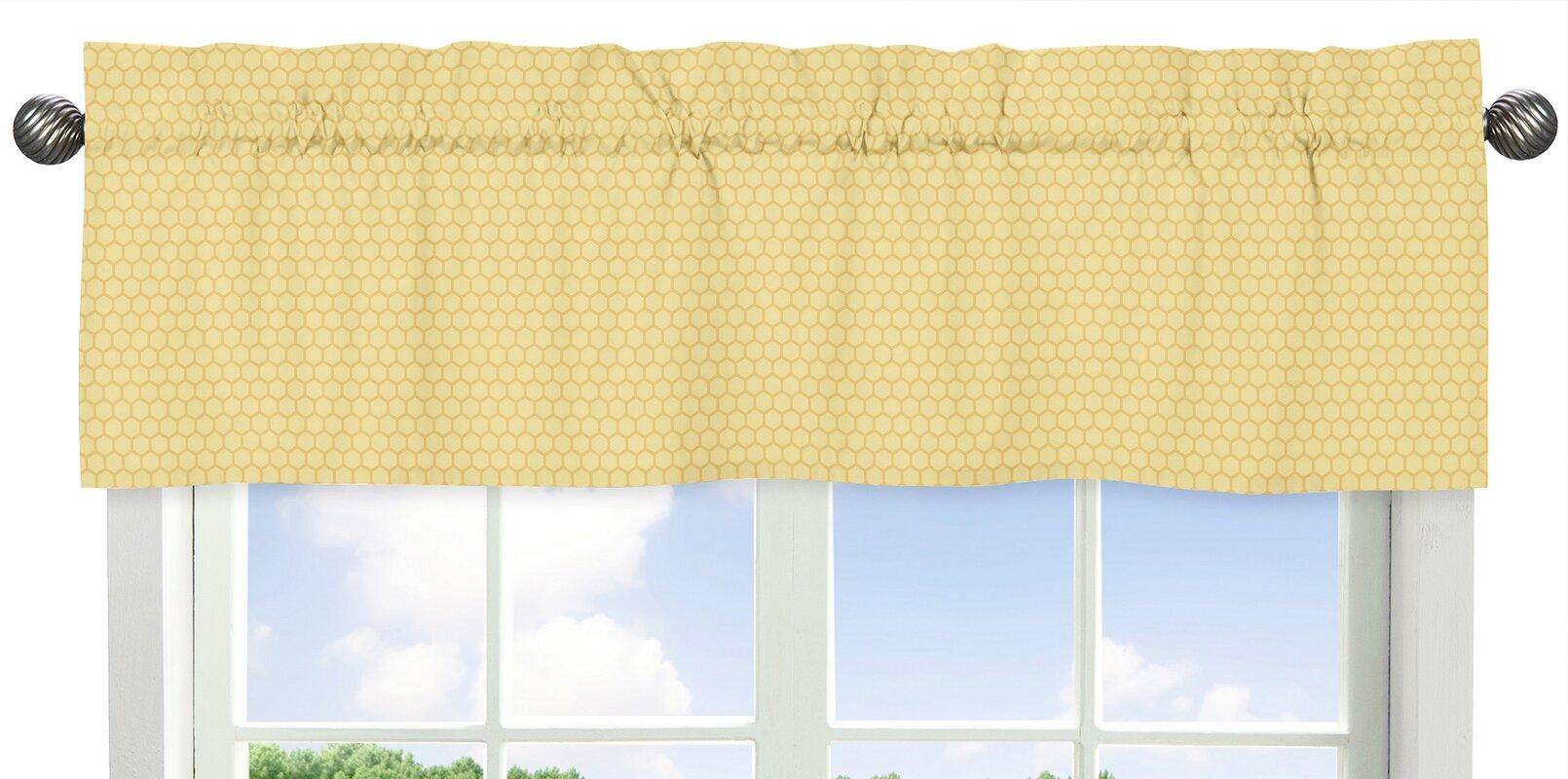 Honey Bee 54 Curtain Valance