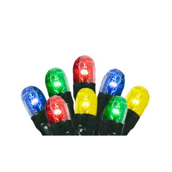 140 Light 8-Function Micro Rice Christmas Lights with Wire by The Holiday Aisle