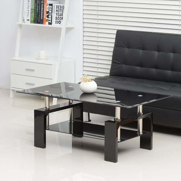 Bowling Urban Coffee Table by Orren Ellis