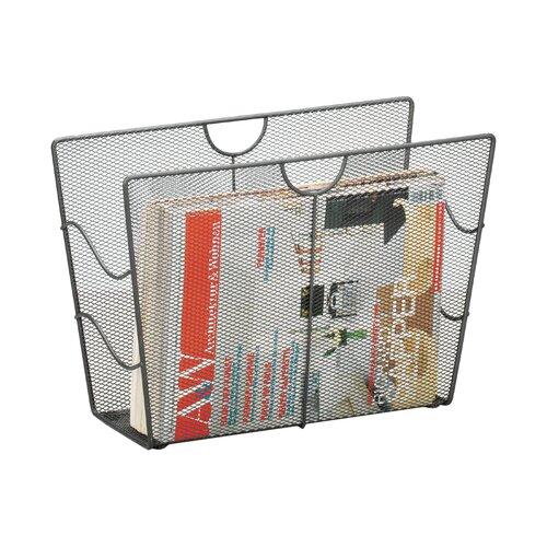 Zeitungsständer Zeller Present Ausführung: Anthrazit | Dekoration > Aufbewahrung und Ordnung > Zeitungsständer | Zeller Present