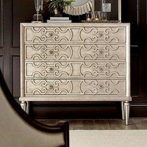 Delahunt 4 Drawer Dresser by Rosdorf Park