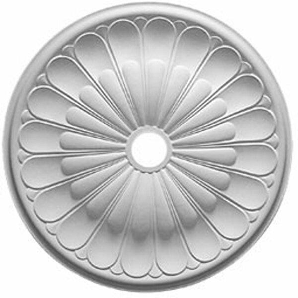 Gorleen 31 5/8H x 31 5/8W x 1 7/8D Ceiling Medallion by Ekena Millwork