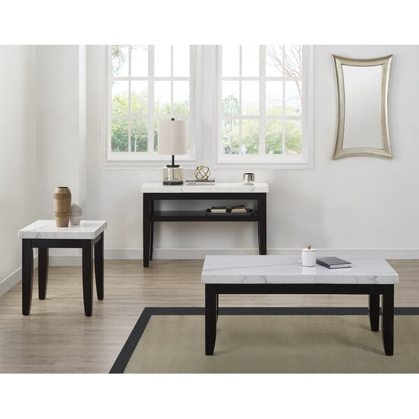 Thisnes 3 Piece Coffee Table Set by Brayden Studio Brayden Studio®