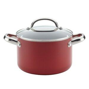 Buena Cocina 4 qt. Soup Pot with Lid
