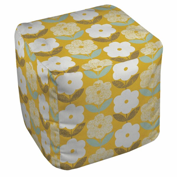 Jar Of Sunshine Vintage Pouf By Manual Woodworkers & Weavers