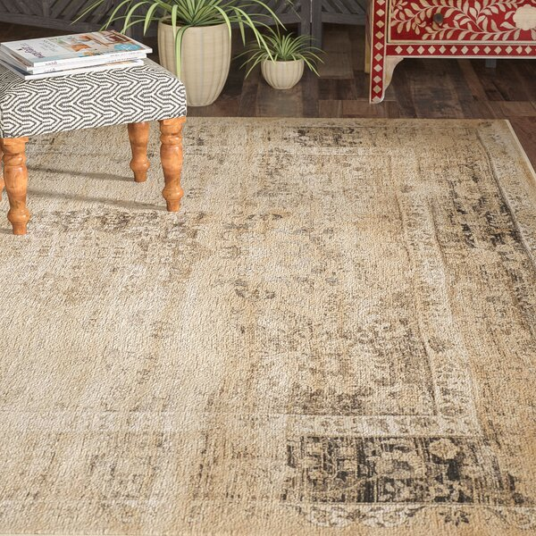 Todd Beige/Brown Area Rug by World Menagerie
