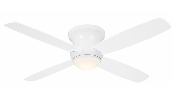 52 Mcdorman 4 Blade LED Ceiling Fan with Remote by Ebern Designs