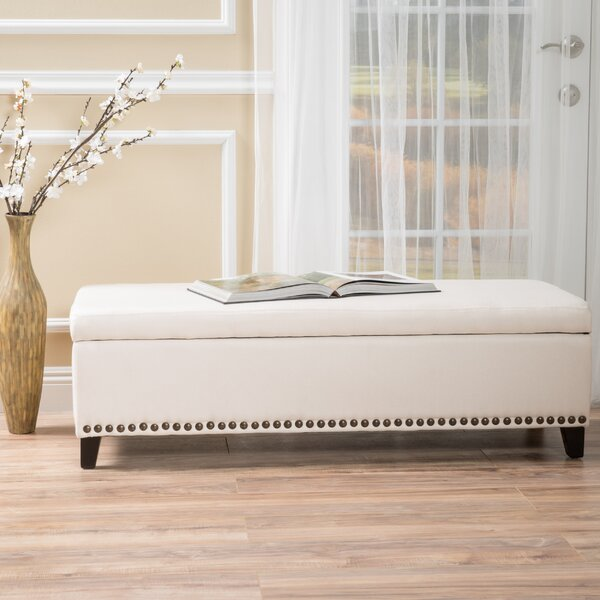 Brookland Upholstered Storage Bench by Charlton Home