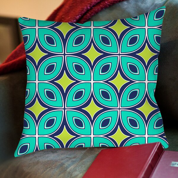 Lorraine Links Printed Throw Pillow by Manual Woodworkers & Weavers