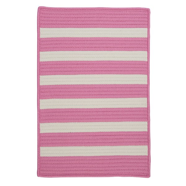 Georg Bold Pink Indoor/Outdoor Area Rug by Viv + Rae
