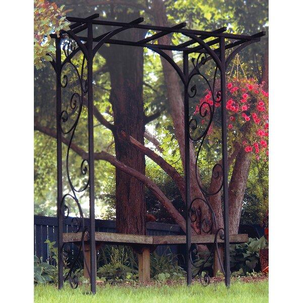 Garden Steel Arbor by Panacea