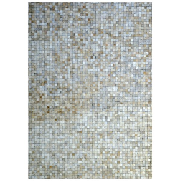 Hand-Woven Ivory Area Rug by Eastern Weavers