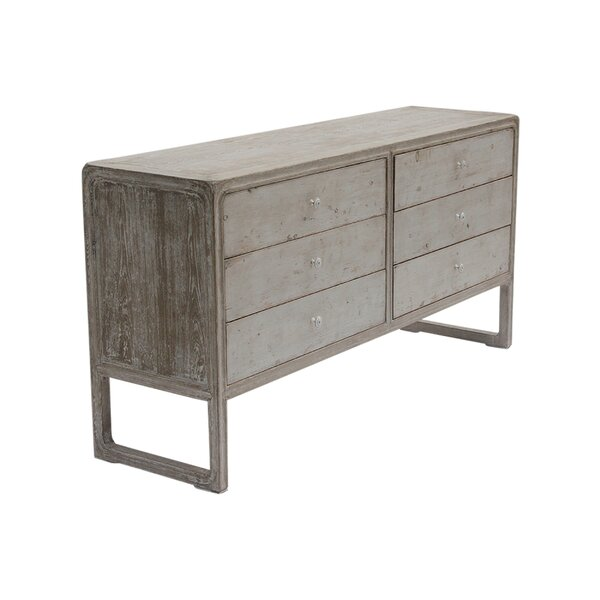 Montel 6 Drawer Double Dresser By World Menagerie by World Menagerie 2020 Online