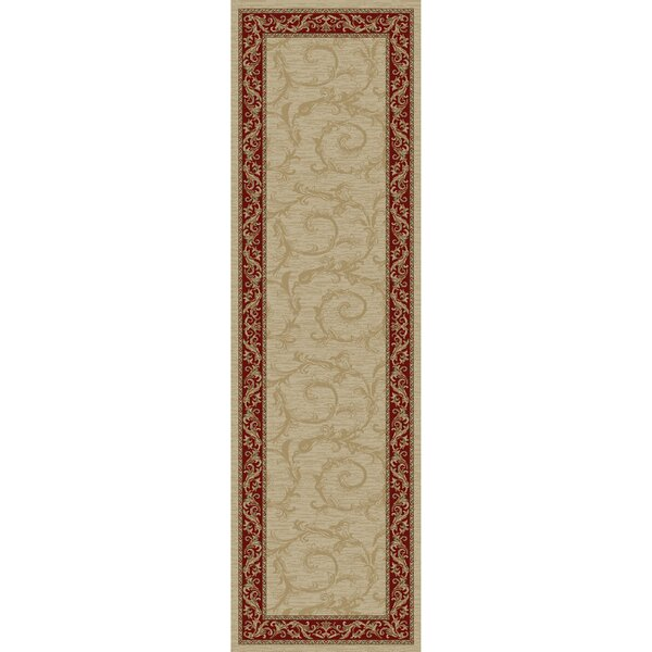 Jewel Veronica Ivory Floral Area Rug by Threadbind
