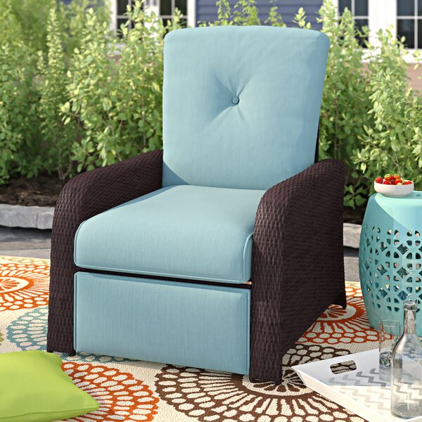 Ashton Luxury Recliner Patio Chair With Cushions By Sol 72 Outdoor by Sol 72 Outdoor Wonderful