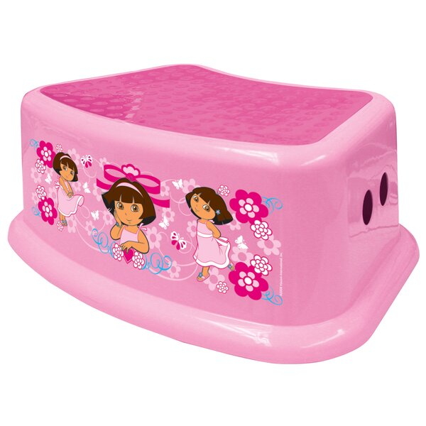 Nickelodeon Dora The Explorer Step Stool by Ginsey