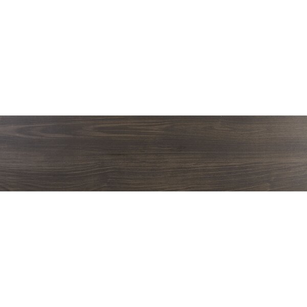 Bridgeport 9 x 36 Porcelain Wood Look Tile in Blackwood by Itona Tile