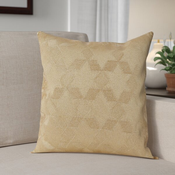 Genese Stitched Star Cotton Throw Pillow by The Holiday Aisle
