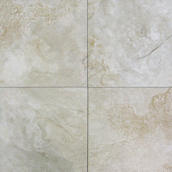 Platino 18 x 18 Porcelain Field Tile in Grey by MSI