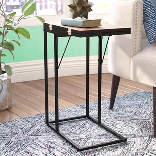 Calahan Foldable End Table Wrought Studio