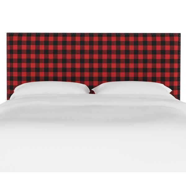 Banuelos Upholstered Panel Headboard by Millwood Pines