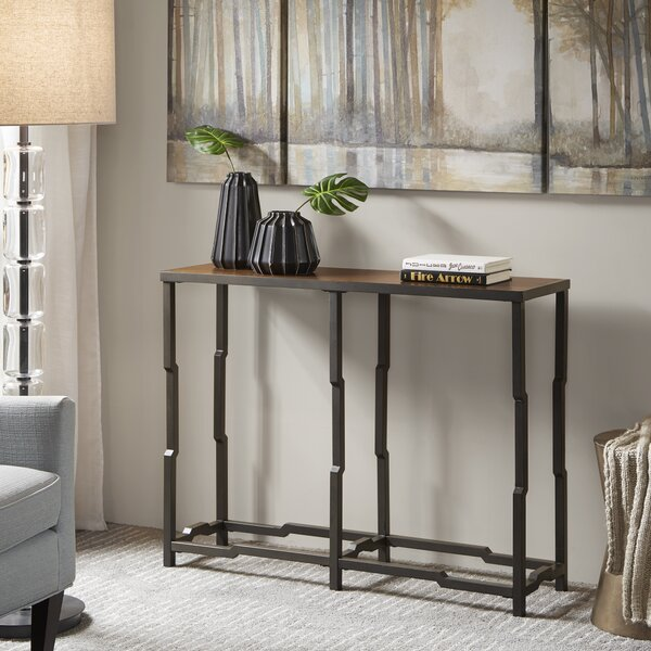 Zavala Console Table By World Menagerie