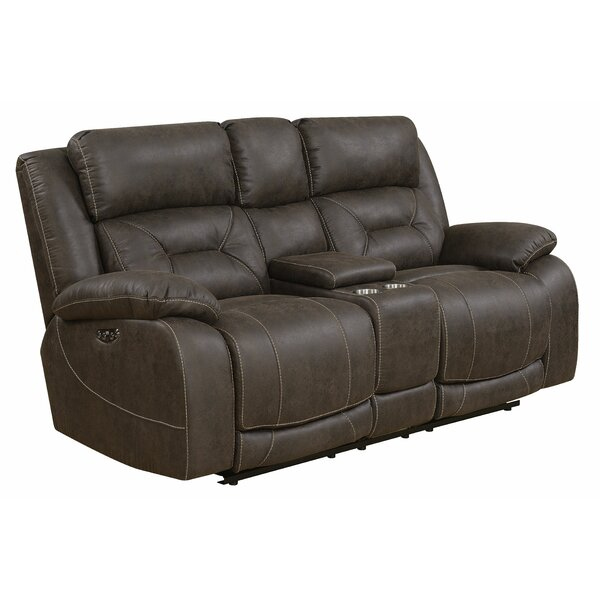 Perfect Priced Darrow Reclining Loveseat by Red Barrel Studio by Red Barrel Studio