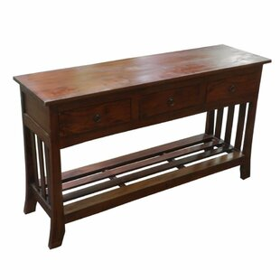 Gasaway Wooden Console Table ByRed Barrel Studio