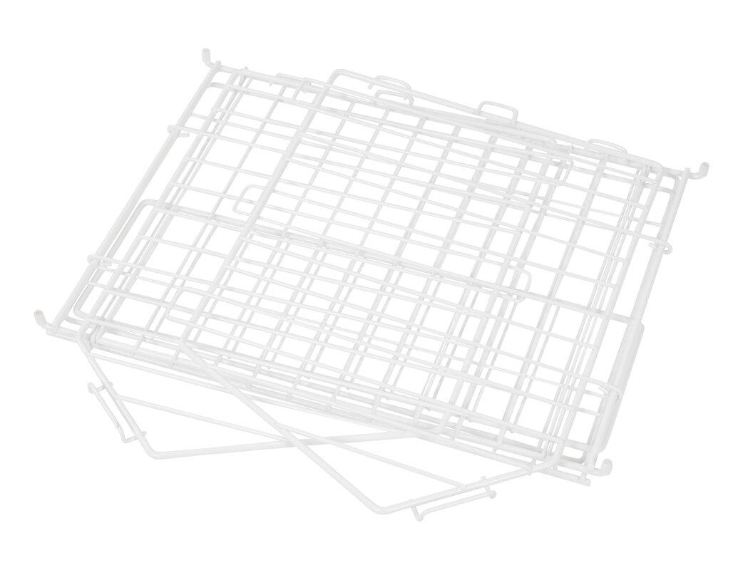 IRIS Modular Stacking Wire Basket & Reviews | Wayfair