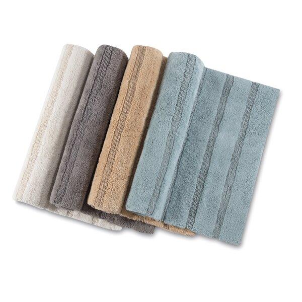 Douberly Handloom Stripe Bath Rug by Canora Grey