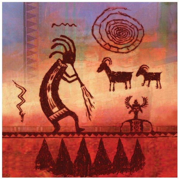 Kokopelli Petroglyph Occasions Trivet by Thirstystone