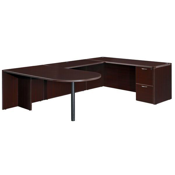 Fairplex Right/Left Bullet U-Shape Executive Desk by Flexsteel Contract