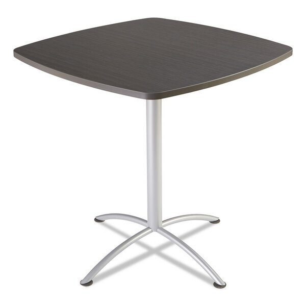 iLand 42 Round Contour Square Seated Style Table by Iceberg Enterprises
