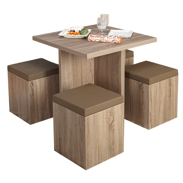 Badillo 5 Piece Dining Set By Ivy Bronx