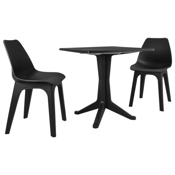 Shuaib 3 Piece Bistro Set by Latitude Run