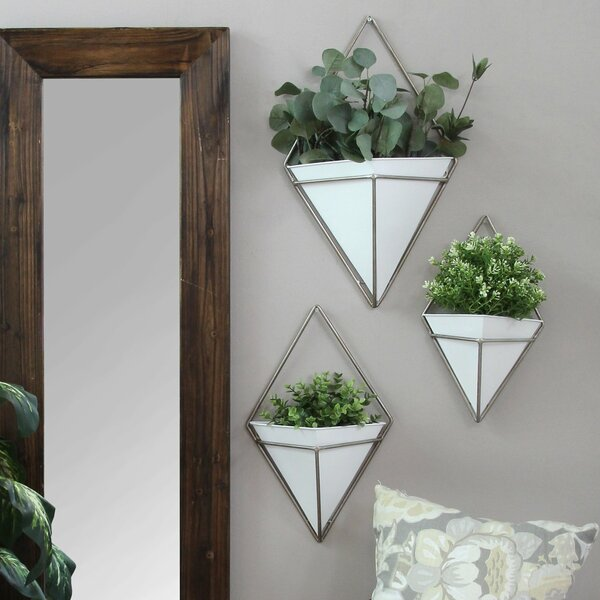 Cordero 3 Piece Wall Planter Set by Wrought Studio