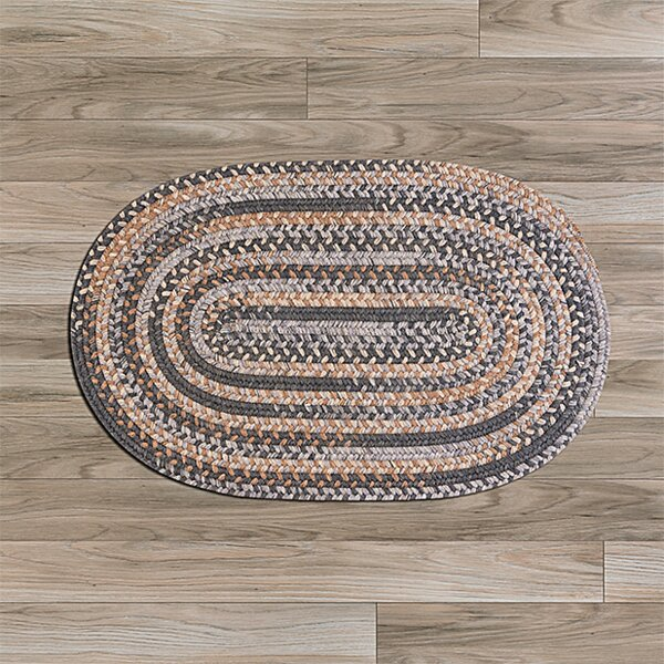 Oak Harbour Gray/Beige Area Rug by Colonial Mills