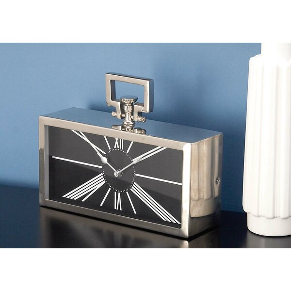 Metal Table Clock by Cole & Grey