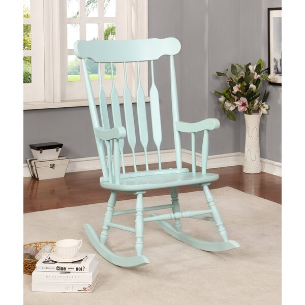 Jerard Rocking Chair by Highland Dunes